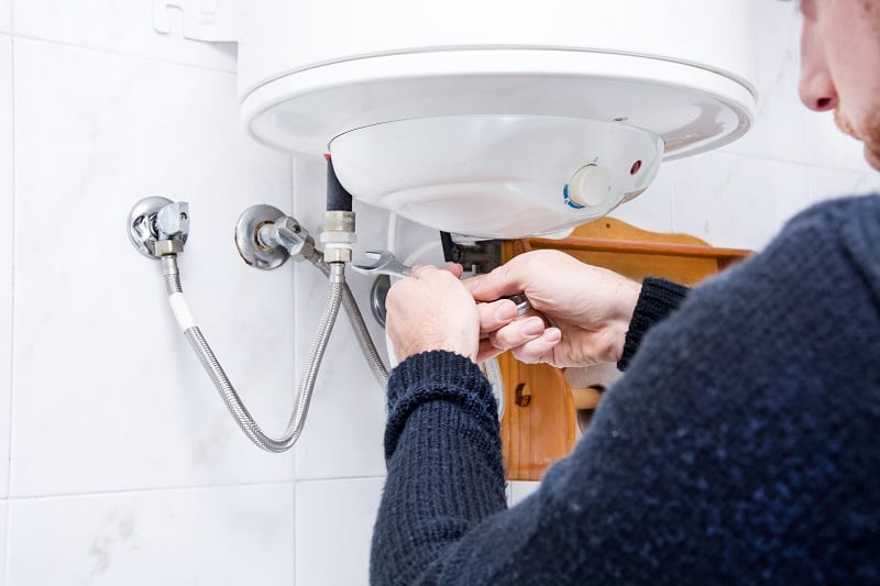 plumbing installations and repairs should be done by a qualified plumber